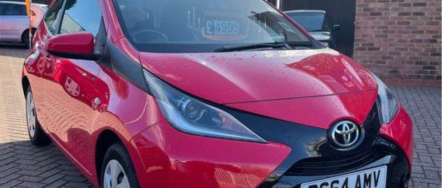 Toyota Aygo X-Play VVT-I 1.0 Petrol * * SOLD * *